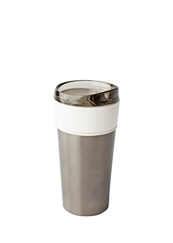 - Ceramic Lined Stainless Steel Foam Insulated Fusion Tumbler, 15 oz (Gunmetal)