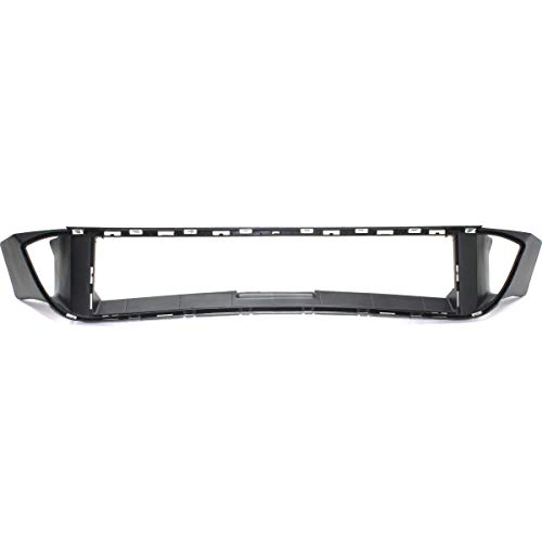 New Front Bumper Reinforcement Cover Frame Textured For 2011-2016 BMW 5-SERIES Sedan/Hybrid, With M Package BM1069100 51748049347 ()