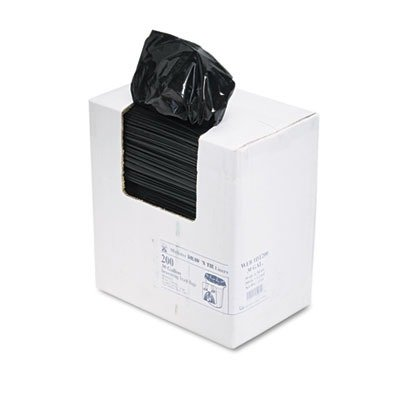 Draw 'n Tie Heavy-Duty Bags, Hexene Resin, 30 Gallons, 1.2 Milliliters, 30 1/2 x 34, Black, 200/Box (1DT200)