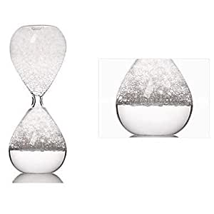 JIAO- Fantastic Bubble Make Sound Sandglass Timer Birthday Valentines Gift(Random Color)