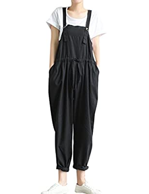 Zoulee Women's Jumpsuits Fashion Rompers Bib Overalls