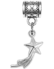 Mossy Cabin Silver Charms for European or Pandora Style Bracelets