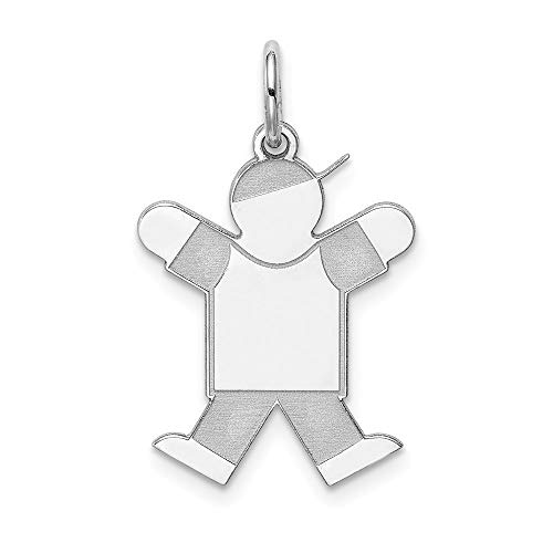 925 Sterling Silver Kid Pendant Charm Necklace Fine Jewelry Gifts For Women For Her