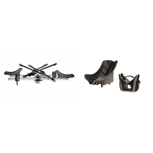 Thule 916XTR T2 Platform Hitch Bike Carrier and Thule 919 Fat Tire Kit (Thule T2 Bike Rack Straps compare prices)