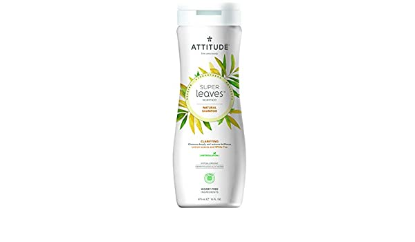 Attitude Super Leaves Champú Purificante: Amazon.es: Belleza