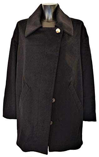 Jacket 40 Veste Aquascutum taglia Coat Woman London Noir Trench Blouson Femme mayesweater zzP4fxO