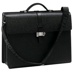 Montblanc 4810 Westside Triple Gusset Briefcase 9562