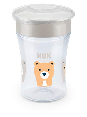 NUK Evolution 360 Cup, 8 oz, 1-Pack, - Cup Non Spill Magic