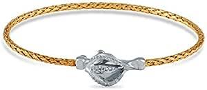 Tatto Tatti Wristband For Women,Gold Plated,5430978(Y)