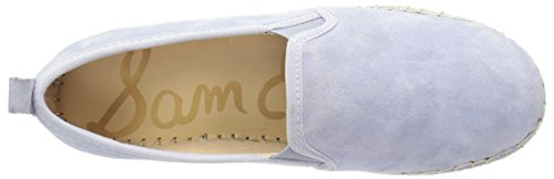 Sam Edelman Frauen Carrin Plattform Espadrille Slip-On Sneaker Dusty Blue Wildleder