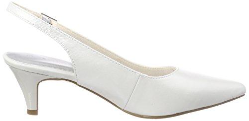 Abierto Tamaris Mujer De Para white Taln 29607 Blanco Sandalias wqIqRZ7