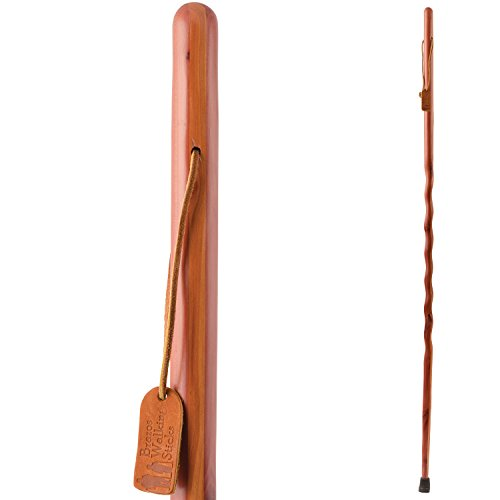 Brazos Twisted Aromatic Cedar Walking Stick-48