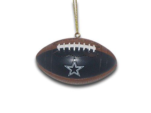 The Memory Co Dallas Cowboys Resin Football Ornament ()