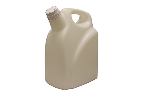 PSC 2015100 HDPE Heavy Duty Carboy Jerrican with Easy Handle, 6 L