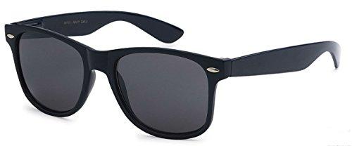 Sunglasses Classic 80's Vintage Style Design (Navy - Glasses Blue Navy