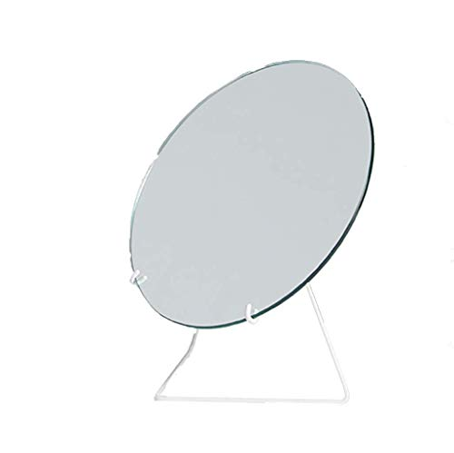 QAZWSXE Modern Minimalist Makeup Mirror No Deformation Small and Convenient Easy to -