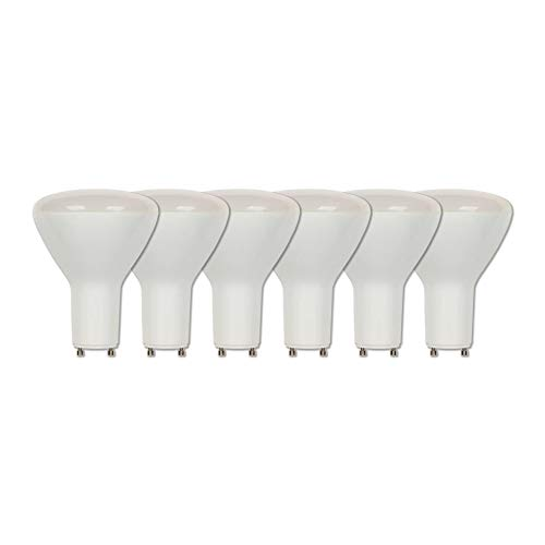 Westinghouse Lighting 3315920 65-Watt Equivalent R30 Flood Dimmable Soft White LED Light Bulb with GU24 Base (6 Pack), ()