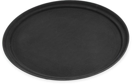 Carlisle 2500GR004 Griptite Serving Trays, Set of 6 24-Inch x 19-1/4-Inch, Fiberglass, Black (Griptite Tray Serving Black)