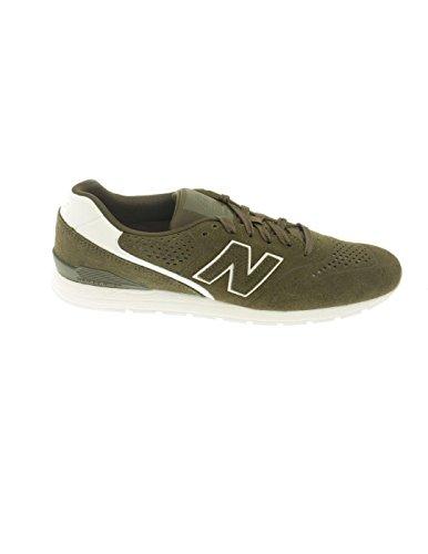 New Balance 996 Leather, Zapatillas para Hombre Verde