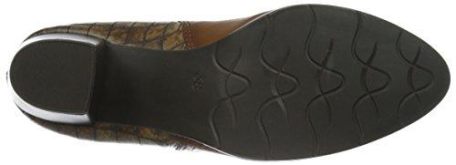 Marco Tozzi Premio 25385, Zapatillas de Estar por Casa para Mujer Marrón - Braun (COGNAC ANTIC 410)