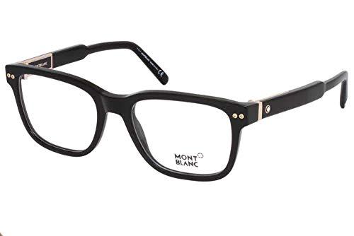 Eyeglasses Montblanc MB 0705 01A shiny - Mens Eyeglasses Blanc Mont