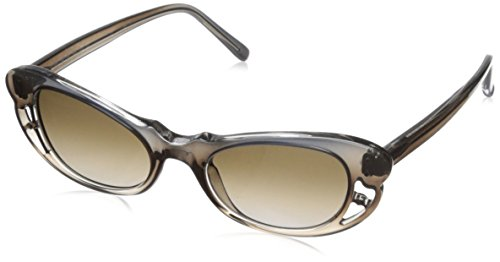 Marni Women's MA107S Sunglasses, Shaded/Liquorice