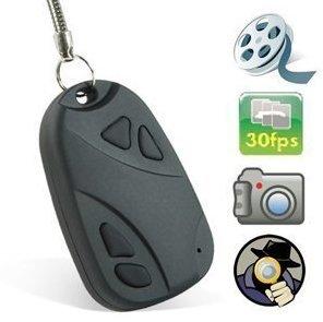 Shift HQ30 mini coche Fob llavero Disfrazado cámara oculta espía grabador de vídeo: Amazon.es: Bricolaje y herramientas