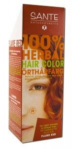 Sante Herbal Hair Color, Flame Red, 3.52 (Flame Red Powder)
