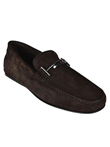 Tod's Uomo Gommino XXM0LR0Q700RE0S800 Marrone Marrone Mocassini City FqYHnrEFT