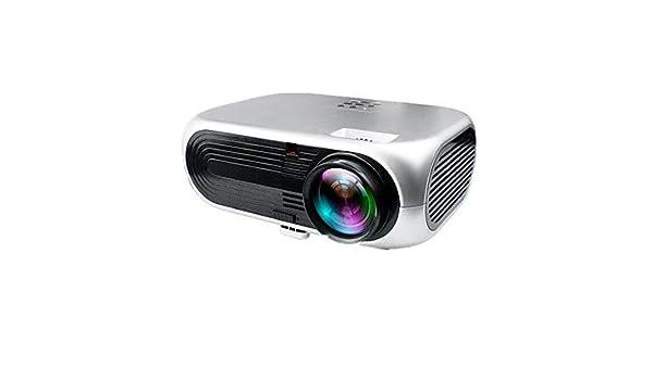 VS 508 + DLP Cine En Casa Proyector LED Proyector 2600 LM Apoyo ...