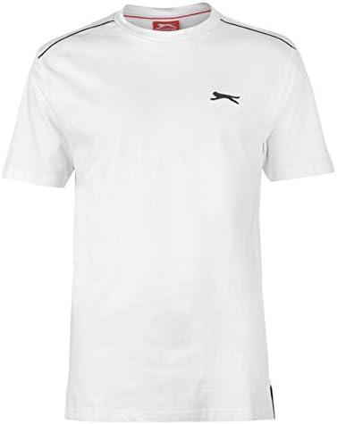 ✅ Slazenger Mens Tshirt V Neck Sports Gym Summer Casual Navy