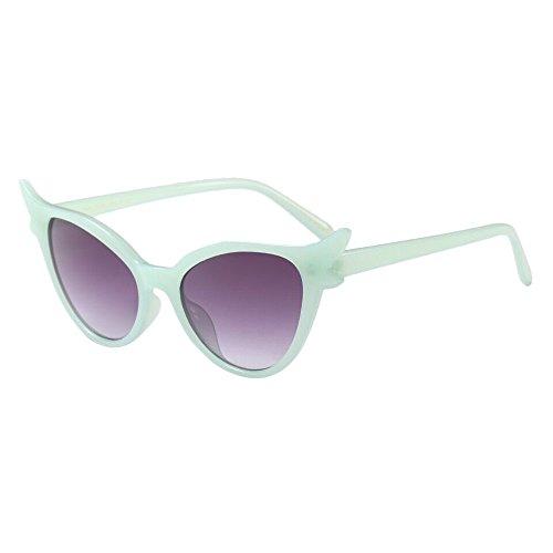 Price comparison product image Unisex Sunglasses Retro Vintage Clout Cat Eye Rapper Grunge Glasses Eyewear Beautyfine