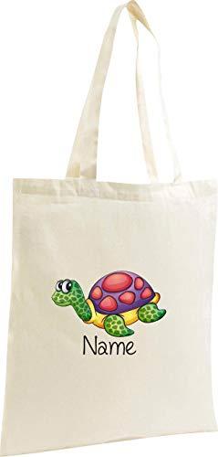 Bag Shopping Nome Vostra Shirtstown Fantastici Iuta Con Tartaruga Naturale Incl Richiesta Motivi 5gx6Eq4x