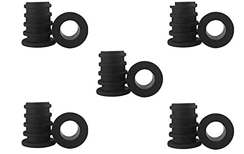 (Five silicone rubber fitting replacements)