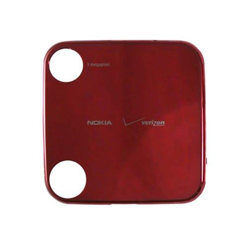 Nokia 7705 Twist Red Back Cover Battery Door