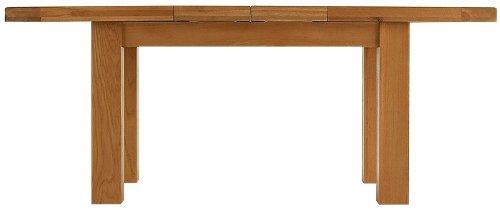 Ausziehbarer Esstisch, massive Pembroke-Eiche 240 cm