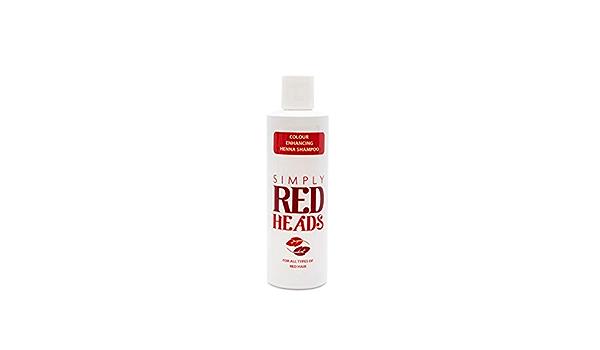 Simply Redheads Champú de henna para cabello rojo (250 ml)