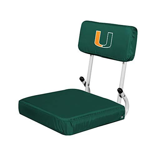 NCAA Miami Hurricanes Hardback Stadium Seat ()