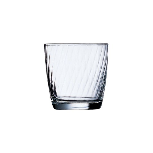 Arcoroc 20885 Excalibur Optic 10 Oz. Old Fashioned Glass - 36 / CS by ARC Cardinal