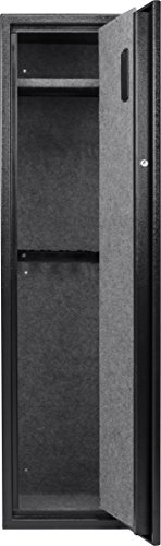 BARSKA New Large Quick Access Biometric Rifle Gun Safe Cabinet (13 in x 13 in x 52.25 in)