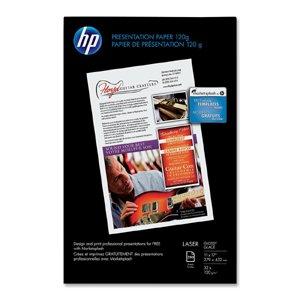 Color Laser Coated Paper - HP Q2547A Color Laser Presentation Paper, 95 Brightness, 34lb, 11 x 17, White, 250/Pack