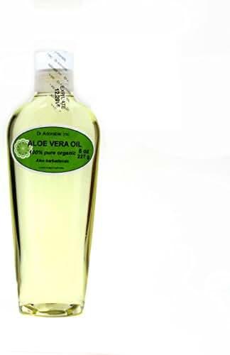Aloe Vera Oil Pure Organic Cold Pressed by Dr.Adorable 8 Oz