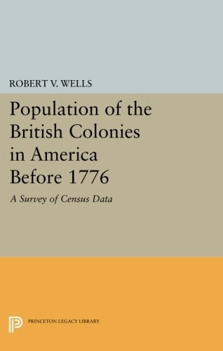 Population of the British Colonies in America Before 1776: A Survey of Census Data (Princeton Legacy Library) PDF