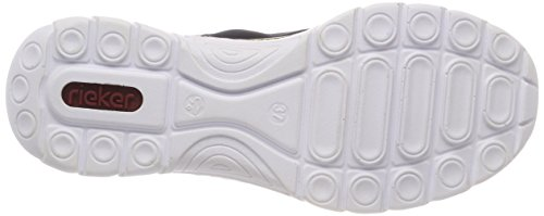Rieker Kvinder N4263 Sneaker Blå (pacific / Flåde / Sort) rPvVRmtzgp