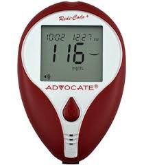 Advocate Redi-Code Plus Non-Speaking Glucose Meter by Advocate (Redi Care)
