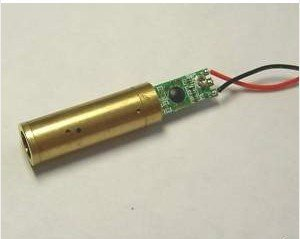 Lights88 532nm Green Laser Module Diode Laser Beam Driver(30mw 50 mw Green Dot Laser ()