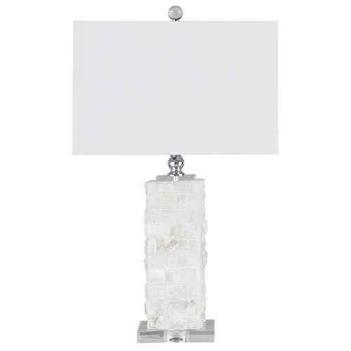 - Ashley Furniture Signature Design - Malencia Marble Table Lamp - White
