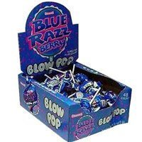 Charms Blow Pops Blue Razz Berry (48 count) ()