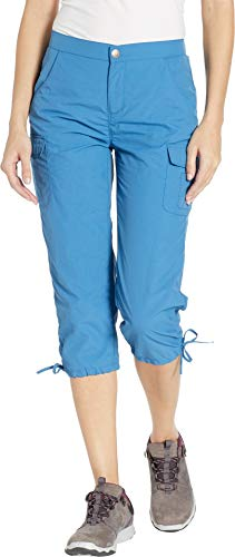White Sierra Women's Crystal Cove River Capri Blue Sea Medium 20