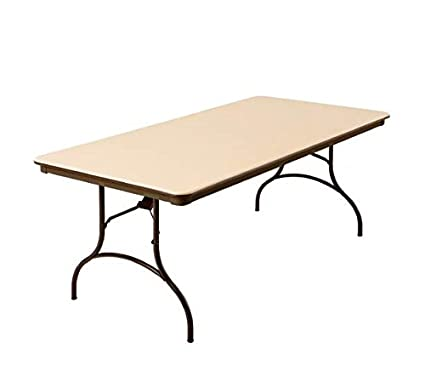 Amazoncom Mitylite Abs Table Rectangle 30 X 72 Beige